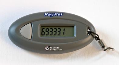 PayPal SecurityToken