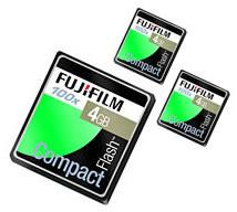 Fujifilm 310x CF-Karte